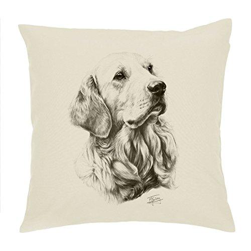 Golden Retriever Dog cuscino/cuscino 45,7cm Mike Sibley