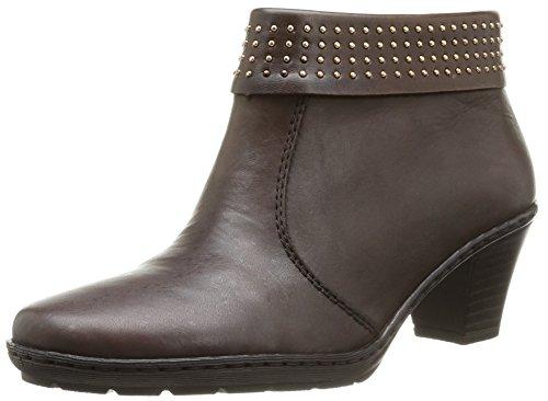 Rieker 57150 26, Boots femme Marron (Teak/Teak)