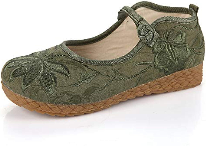 Fuxitoggo Chaussures (coloré : Vert, Taille EU : EU Taille 38)B07GX7HKZWParent 06f20e