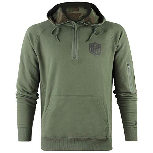 New Era NFL Camo Hz Hoodie Kapuzenpullover American Football Camo Collection Streetwear Hz Hoody M Grün