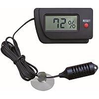 Trixie Higrómetro Digital con Sensor remoto–(Cable Extra Largo)