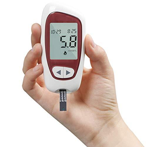 DHHZRKJ Blutzuckermessgerät Testreise Diabetes-Tester Zucker-Tester Blutzuckermessgerät Test medizinisches Überwachungsinstrument
