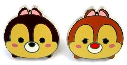 Disney Park Pin Myst¡§¡§re Set Chip & Dale Tsum Tsum