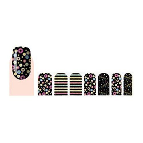 GLAM UP - Stickers Vernis Adhésifs ongles - Sweet Multicolors