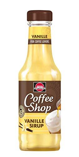 Schwartau Coffee Shop Vanille Sirup, 4er Pack (4 x 200 ml)