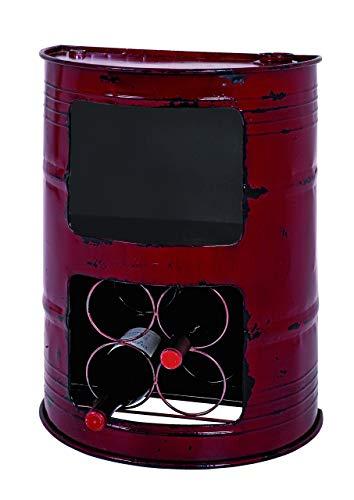Haku-Möbel Regal, 27 x 44 x H: 60 cm, rot