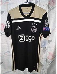 758d4788d Brook Ajax Amsterdam Away Champion League UCL. Soccer Jersey 2018-2019 Full  Patch (