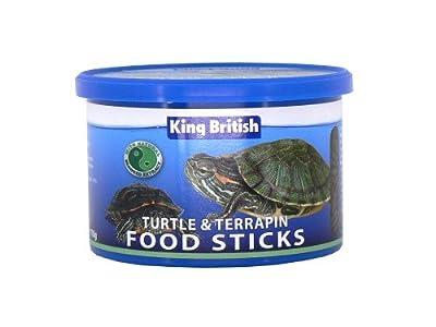 4 Units Saver Pack - King British - Turtle & Terrapin Food Sticks 110g from King British