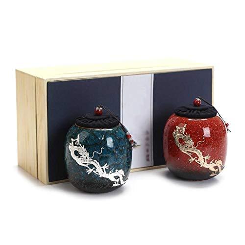 AUGAUST Plateau à thé en céramique Joint incrusté de métiers d'art Argent Beau et Exquis Peut être utilisé comme décoration d'art pour décorer la pièce. (Couleur : A)
