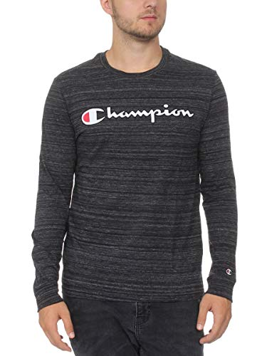Champion t-shirt uomo manica lunga grigio, 2xl