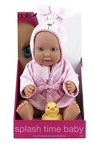 Dolls World Splash Time Baby Girl