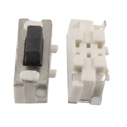ZCHXD 50 Pcs Momentary Tactile Push Button Switch SMD Surface Mount NO - Surface Mount-button