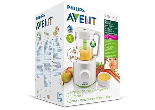 Philips Avent Robot Maxisaveurs , Cuiseur, Vapeur, Mixeur