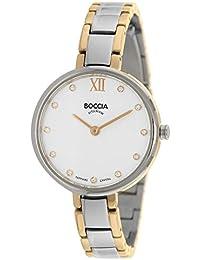 Boccia Damen-Armbanduhr Analog Quarz Titan 3251-01