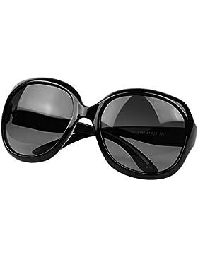 BLDEN Donna Occhiali Da Sole Scatola Grande Moda Occhiali Polarizzati Protezione UV400 Aviator