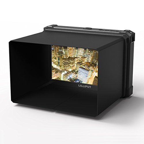 nero Lilliput A7S-2 7 pollici 1920×1200 IPS Screen Camera Field Monitor 4K HDMI Input output Video For DSLR Mirrorless Camera SONY A7 A7R A7S II A6500 Panasonic GH4 GH5 Canon 5D IV 6D 7D 70D 80D NIKON - 6