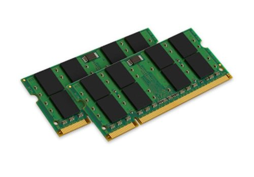 Kingston ValueRAM KVR800D2S6K2/4G PC2-6400 Arbeitspeicher 4GB (NON-ECC, 800 MHz, CL6, 200-polig, 2 x 2GB) DDR2-SDRAM Kit