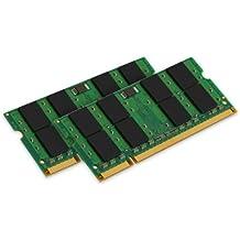 Kingston Valueram - Memoria - 4 Gb (2 X 2 Gb)- So Dimm De 200 Espigas - Ddr2 - 667 Mhz / Pc2-5300 - Cl5 - 1.8 V - Sin Memoria Intermedia - No Ecc