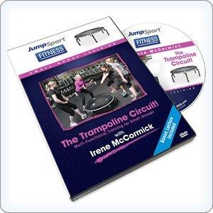 JumpSport Fitness Trampolin Circuit DVD