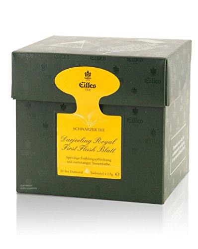 Tea Diamonds Darjeeling Royal First Flush Blatt 20 Pyramidenbeutel