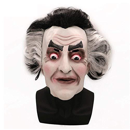 YaPin Halloween Horror Maske Kopfbedeckungen Teufel Geist König Nacht Gespenst Gesicht Requisiten Spoof Latex Maske Kopfbedeckungen Männer Und Frauen