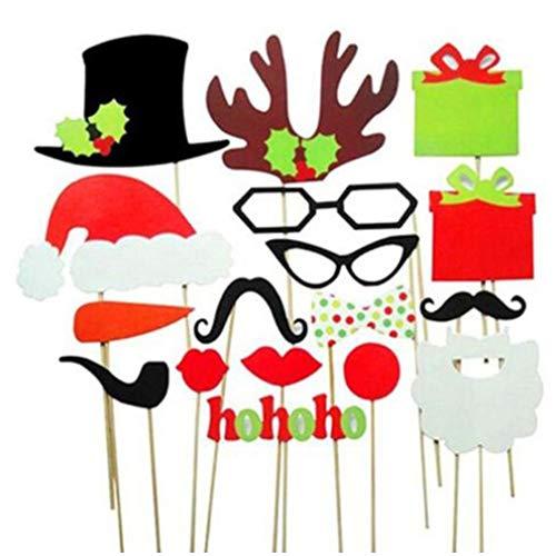 ei liefert Weihnachtsmützen 17 Sätze Haus und Garten/Möbel Festliche & Party Supplies Feier Partei liefert Weihnachtsdekoration, Weihnachten Festliche Atmosphäre ()