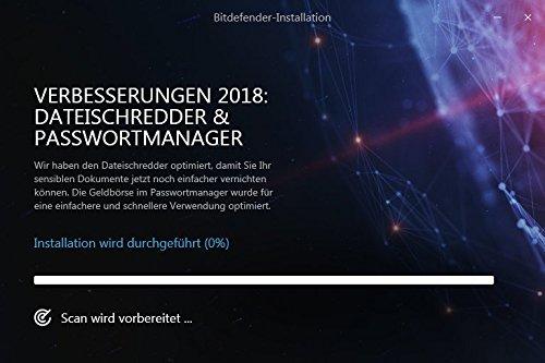 Bitdefender Internet Security Multi Device 2018 - 1 Gerät | 1 Jahr / 365 Tage (Windows) - Aktivierungscode - 6