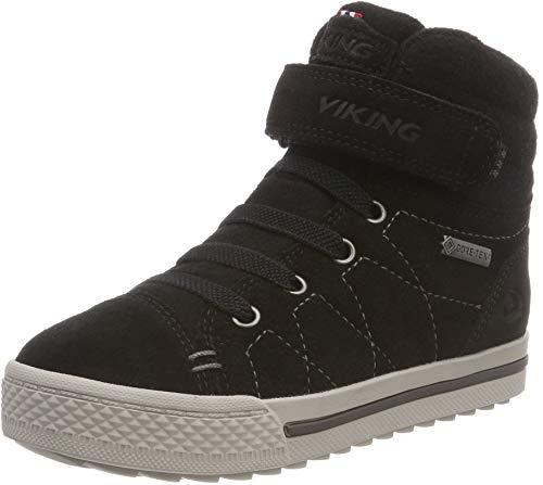 Viking Unisex-Kinder Eagle IV GTX Hohe Sneaker, Black, 40 EU