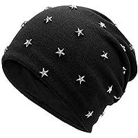 Other Art und Weise Herbst und Winter Pentagram Stern Rivet Head Cap Koreanische Version Trend Hood Hut Wind Mütze Hut Strickmütze