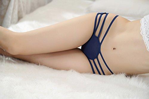 mode - bikini, lotus - dot - print, split - badeanzug Blau
