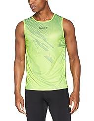 Luanvi Sm Cro Thunder Camiseta, Hombre, Pistacho / Negro, L