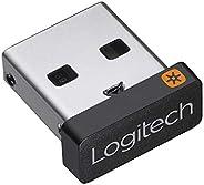 Logitech Unifying USB dongle, 2.4 GHz Draadloze technologie, USB plug&play, te gebruiken met alle Logitech