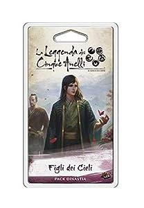 Asmodee Italia - La Leyenda de los Cinco Anillos LCG expansión Figli dei Cieli Edición íntegramente en Italia, Color, 9126
