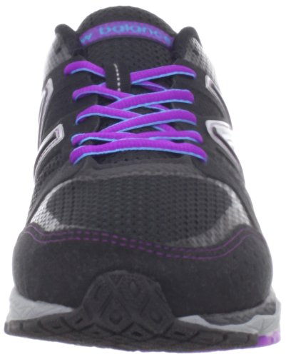New Balance - Mens 1290 Lightweight Running Shoes Black with Purple & Blue