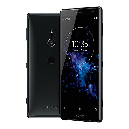 Sony Xperia XZ2 Smartphone (14,5 cm (5,7 Zoll) IPS Full HD+ Bildschirm, 64 GB interner Speicher & 4 GB RAM, Single-SIM, IP68, Android 8.0) Liquid Black - Deutsche Version