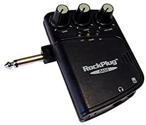 Amplificateur pour casque sans fil rockPlug! &effets pour guitare basse.