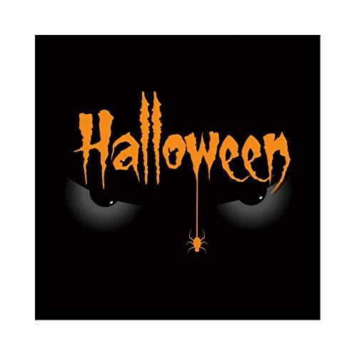ween Hintergrund Halloween Muster Böse Augen Spinne Hintergrund Halloween Party Fotografie Süßes oder Saures Kinder Party Banner Dekoration Porträt ()