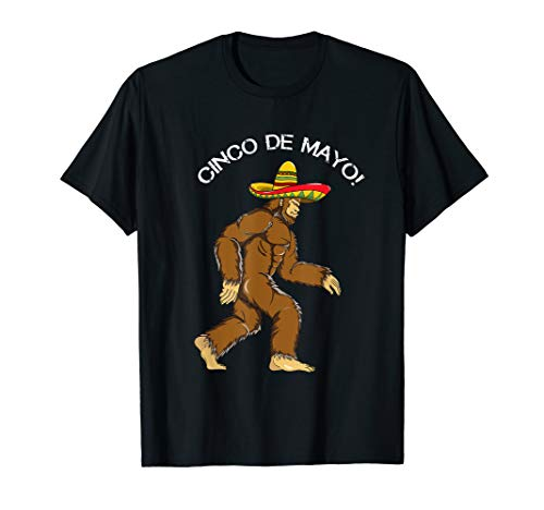 Bigfoot Sombrero Sasquatch Yeti Cinco De Mayo ()