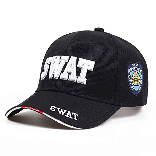 ppe in schwarz Basecap FBI Mütze - SWAT Cap perfekt für Karneval, Halloween & Cosplay ()