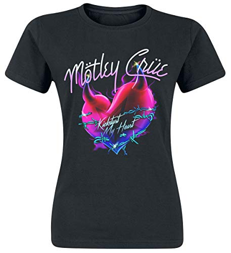 Mötley Crüe Kick Start T-Shirt schwarz M -