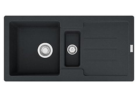 Franke Strata STG 651-86 Onyx Granit Küchenspüle Spülbecken Resteschale