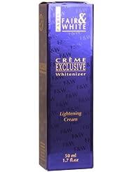 Fair and White Exclusive Cosmétique pour Peau Colorée Crème 50 ml