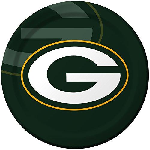 Unbekannt Creative Converting 8Zählen Green Bay Packers Papier Abendessen Teller