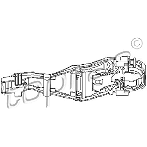 Topran maniglia per porta, 111185 - Volkswagen Anteriore Maniglia