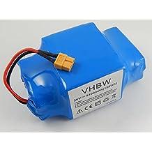 vhbw Batería Li-Ion 4400mAh (36V) para Hoverboard como Balance-Board, Segway, por ejemplo Caterpillar, Gyropode Hoverboards, Razor, Viron