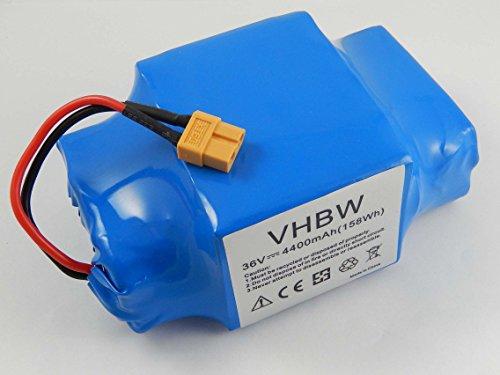 vhbw Batería Li-Ion 4400mAh (36V) para Hoverboard como Balance-Board, Segway, por ejemplo...