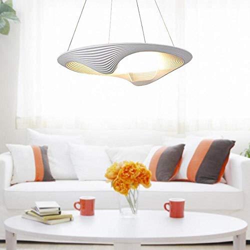 Kronleuchter Moderne einfache led pendelleuchte kreative persönlichkeit kronleuchter weiß aluminium shell art design hängeleuchte schlafzimmer/wohnzimmer/esszimmer pendelleuchte, 50 watt, oslash -