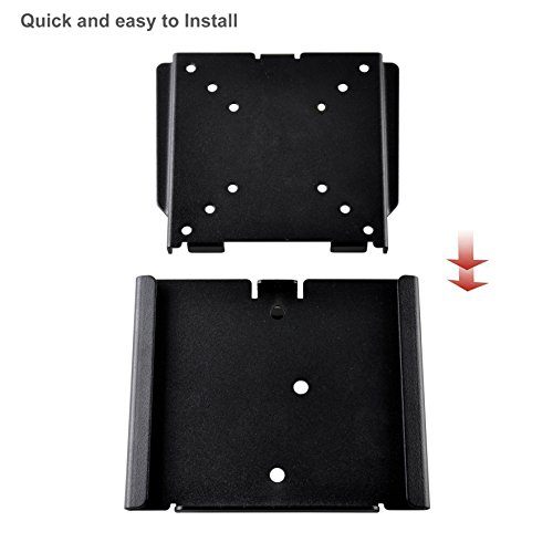 BPS mega thin TV Wall Mount Bracket for 15 30 Inch LED LCD Plasma TV PC Monitor together with NEW Version softer floor Max VESA 100x100 Capacity up to 25Kg55lbs TV Wall Ceiling Mounts
