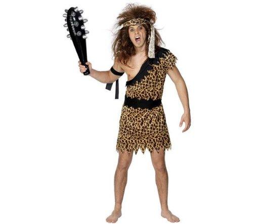 SMIFFY S Kostüm für Erwachsene Höhlenmensch - Größe M