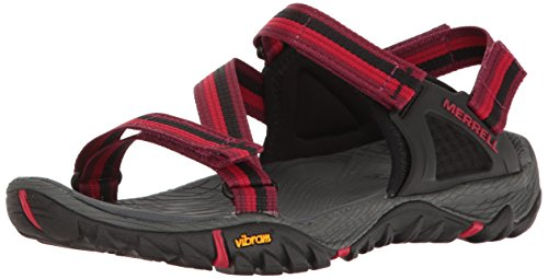 Merrell Damen All Out Blaze Web Sandalen Trekking-& Wanderschuhe, Rot (Beet Red), 40 EU